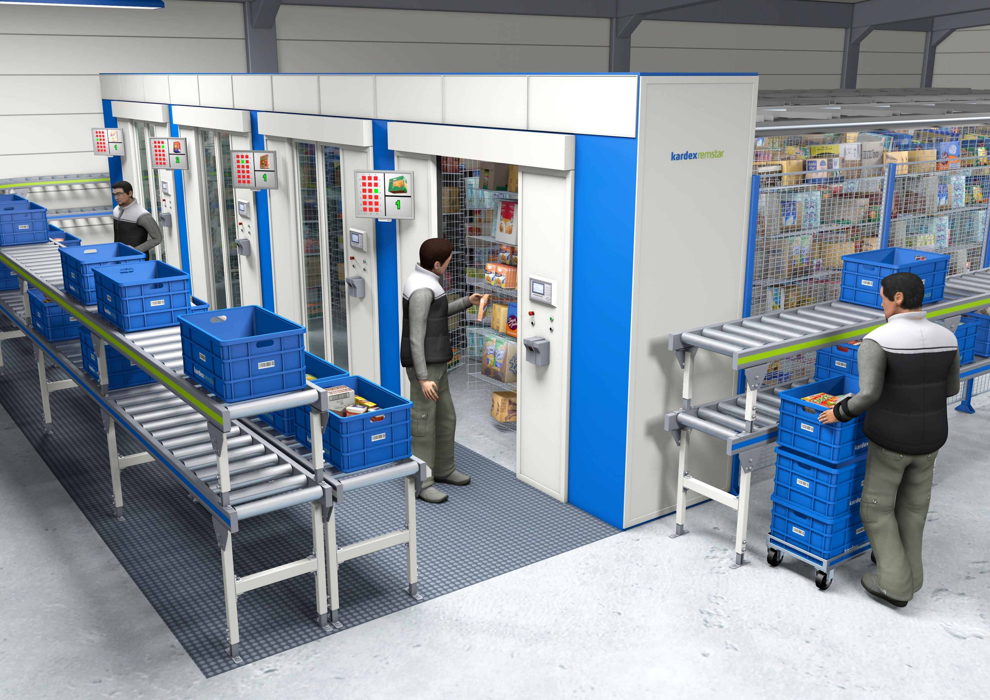 Kardex Remstar Offers Drive In Supermarkets Flexible