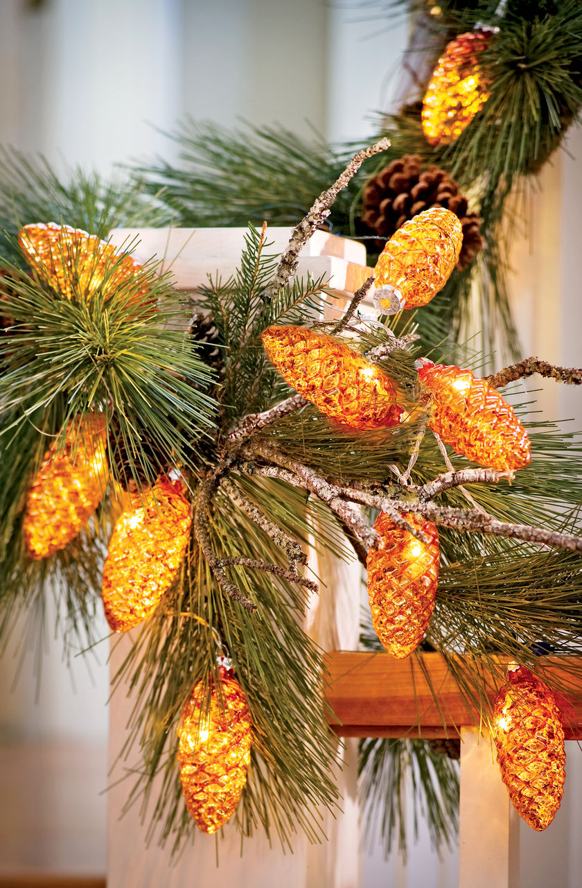 Greenery  Flowers And Sparkle Can Enhance Indoor Holiday