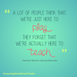 Myth-Busting the Lives of Preschool Teachers and Why They Deserve Our...