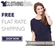 Clothing Shop Online offers up to 50 percent off all items on...