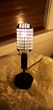 Vintage Microphone Light Available for Christmas