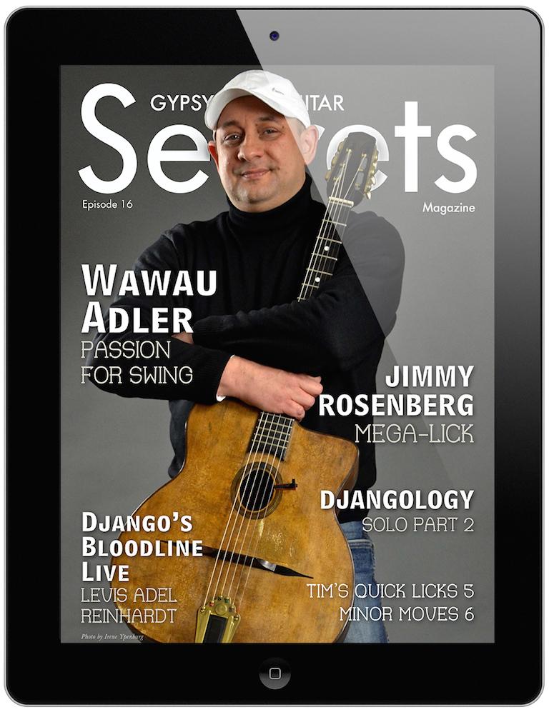 gypsy jazz guitar secrets magazine pdf
