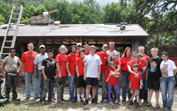 Universal Roof & Contracting, Universal Contracting, Camp Challenge, Universal Contracting Community Works, Jared Mellick
