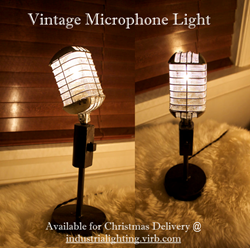 Vintage Microphone Light Available 2015
