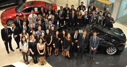 50 UBCO Management Students competing at JDC West 2015