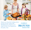 DNA Spectrum Thanksgiving