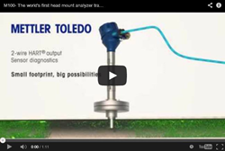 New Video from METTLER TOLEDO Introduces the World's First Head Mount Analyzer Transmitter M100.