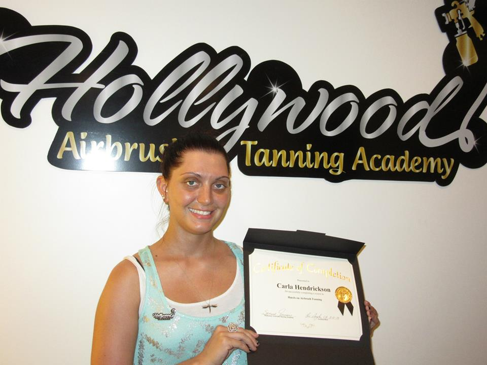 Hollywood Airbrush Tanning Academy S Latest Certified Spray Tan