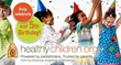 HealthyChildren.org Celebrates 5th Birthday with Sweepstakes Event