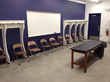 Siebert Park's stadium now has an enhanced meeting room with more storage space.
