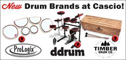 New Drum Brands at Cascio Interstate Music!