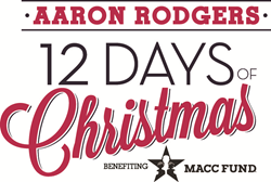 12 Days of Christmas, MACC Fund, Aaron Rodgers, Kohl's