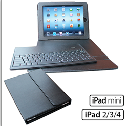Leather Keyboard Portfolio for iPad Air 2