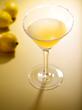 Honey Lemon Drop Martini