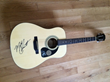 Guitar autographed by Mark Chesnutt