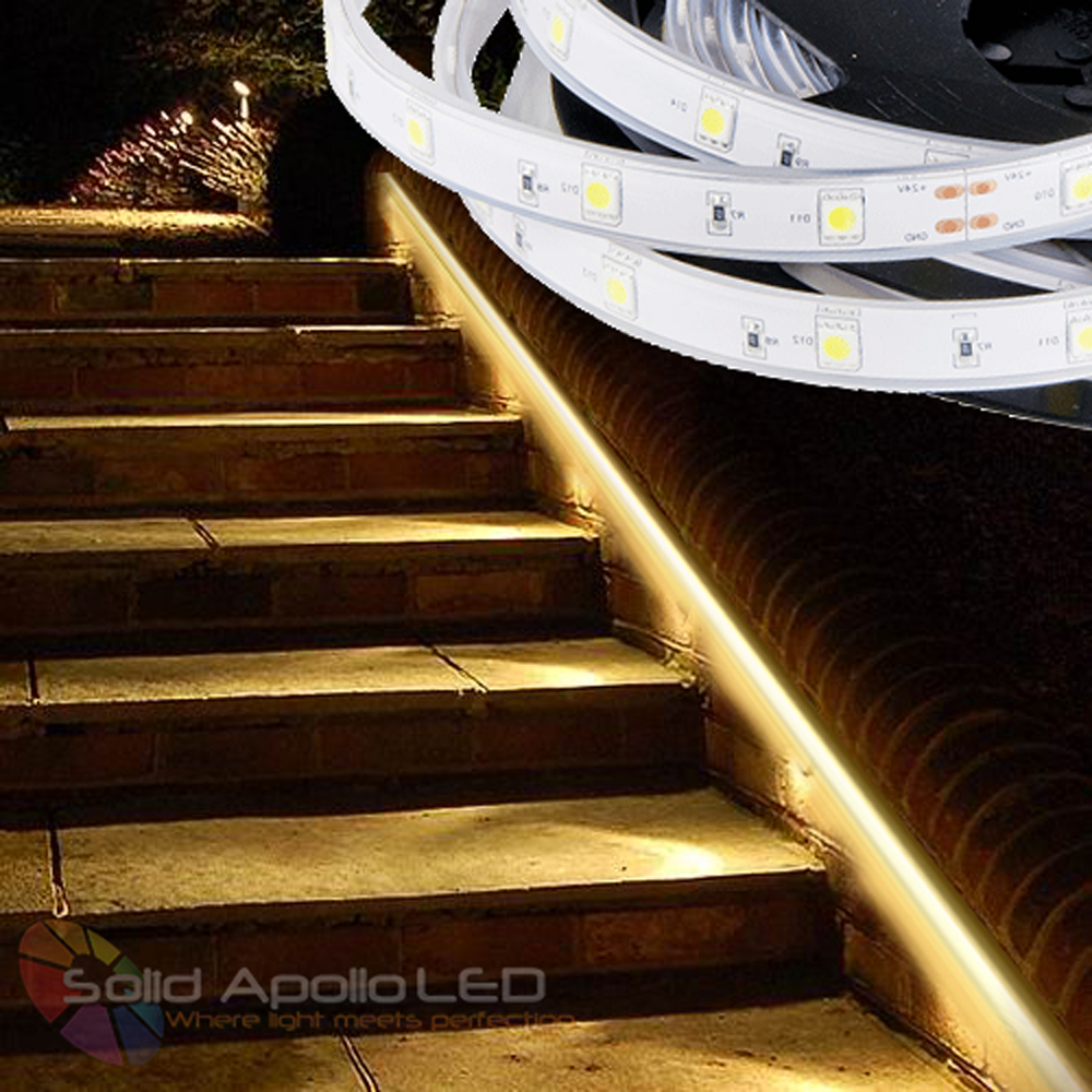 outdoor led strip lighting for pathway lighting low voltage flexible