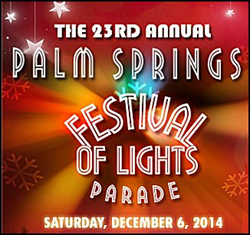 23rd Annual Palm Springs Festival of Lights Parade