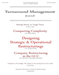 Turnaround Management Journal Cover
