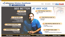 New Interactive website for vision