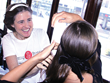 New Chic Hair Curling Invention Makes Spiral Curls for Women While On...