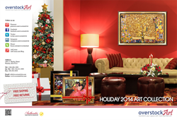 overstockArt.com's Holiday 2014 Art Collection Catalog