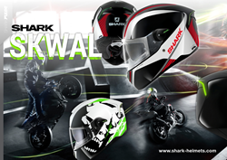 Shark Skwal Helmet Range Dual Black, Spinax and Instinct