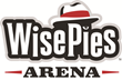 The new logo for WisePies Arena aka The Pit