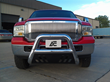 After Effect, large bull bars, 7-inch chrome bull bars