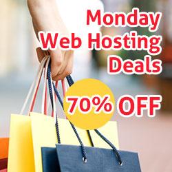 Monday Web Hosting Deals
