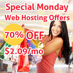 Special Monday Web Hosting Offers