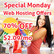 Special Monday Web Hosting Offers for Dec. 1, 2014 Shared by HostingReview360