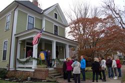 Raleigh, history, Christmas, homes