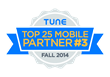 Motive Interactive Inc Ranks No. 3 on Tunes Top 25 Mobile Advertising...