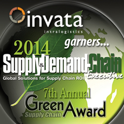 Invata Intralogistics wins 2014 Green Award.