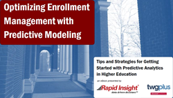 predictive modeling image for higher education marketing
