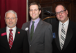 Dr. Anthony Davidson, dean, Manhattanville School of Business; NYS Assemblyman David Buchwald (D-Westchester); and Laurence Gottlieb, president and CEO, Hudson Valley Economic Development Corporation.