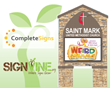 New LED Messsage Sign for Saint Mark UMC