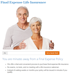 Online Final Expense Life Insurance Quote