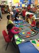 Children Enjoy Playing With Magic Carpets