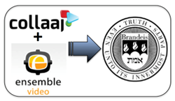 Collaaj Lecture Capture & Ensemble Video Platform Employed At Brandeis Univ