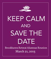 Annual Alumnae Reunion Date