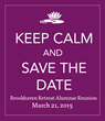 Brookhaven Retreat Announces Annual Alumnae Reunion Date