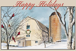 SaveATreeCards Holiday Card