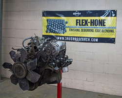 Auto Mechanics Use BRM Flex-Hone® Tools to Rebuild Engines