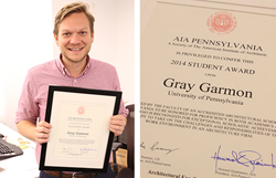 Gray Garmon, Array Architects Designer, Wins Student Award