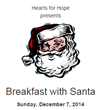 Mancari's of Oak Lawn Sponsors Breakfast with Santa to Benefit Hearts for Hope Programs at Advocate Children's Hospital this Sunday, December 7th