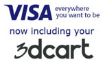 3dCart Hosted eCommerce Solution to Offer Visa Checkout
