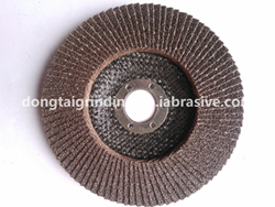 125 5''Calcined flap disc_Dongtai Abrasives