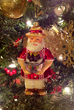 CasaQ's Papi Claus glass ornament