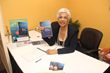 Bunnie Jackson-Ransom at a book signing